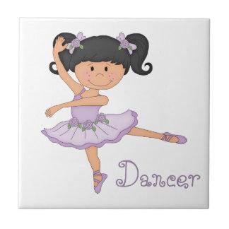 Dancer-Little Ballerina Tile
