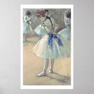 Dancer (pastel) poster