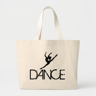 Dancer pic., DANCE Large Tote Bag