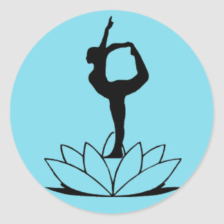 Dancer Pose - Yoga Sticker