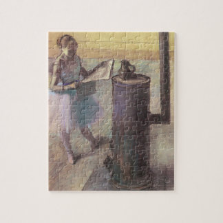 Dancer Resting by Edgar Degas, Vintage Ballet Art Jigsaw Puzzle
