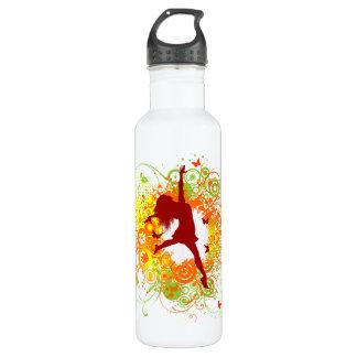 Dancer Silhouette 710 Ml Water Bottle