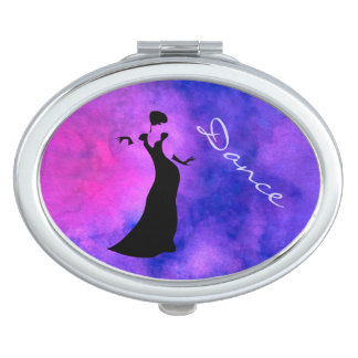 Dancer Silhouette Mirror For Makeup
