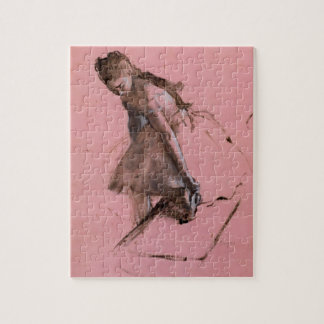 Dancer Slipping on Her Shoe by Edgar Degas Jigsaw Puzzle