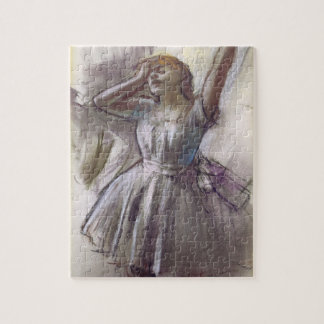 Dancer Stretching by Edgar Degas, Vintage Ballet Jigsaw Puzzle