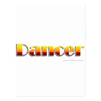 Dancer (Text Only) Postcard