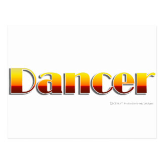 Dancer (Text Only) Postcards
