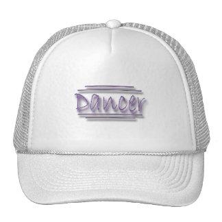 Dancer underlined  purple cap