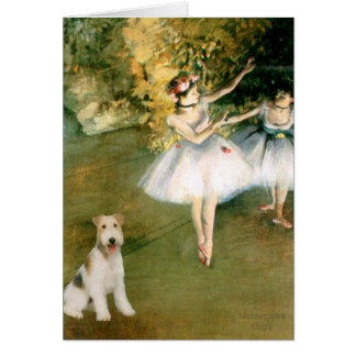 Dancer - Wire Fox Terrier #1 Card