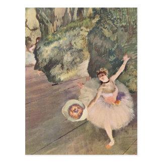 Dancer with a Bouquet Postcard