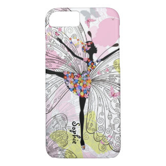 Dancer With Butterflies iPhone 8/7 Case
