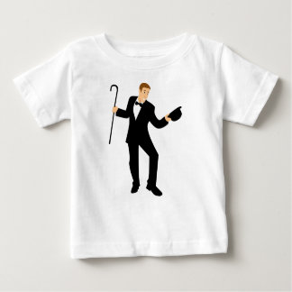 Dancer with Cane Baby T-Shirt