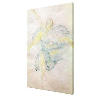 Dancer with Veils Canvas Print