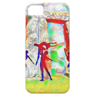Dancers at Stonehenge iPhone 5 Covers