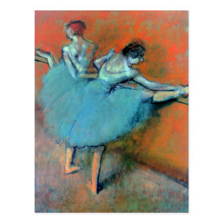 Dancers at the Bar by Degas Postcard