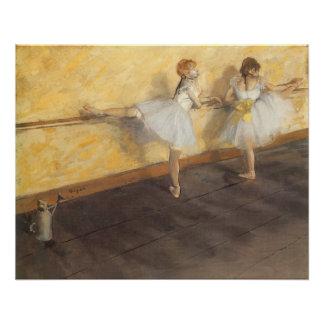 Dancers at the Bar by Edgar Degas, Vintage Ballet