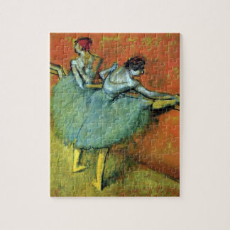 Dancers at the Bar by Edgar Degas, Vintage Ballet Jigsaw Puzzle