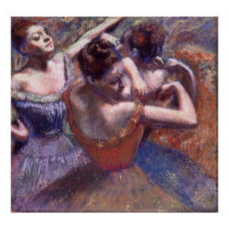 Dancers by Edgar Degas Poster