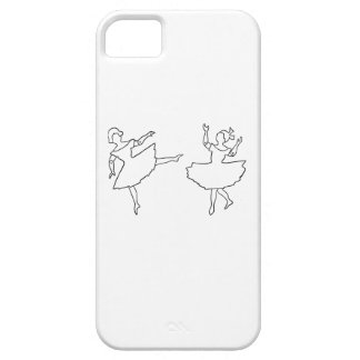 Dancers Cutout Illustration Barely There iPhone 5 Case