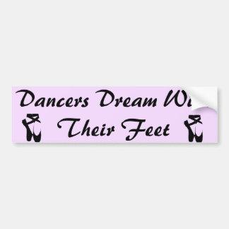 Dancers Dream Bumper Sticker