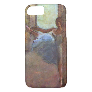 Dancers in Foyer, Edgar Degas, Vintage Ballet Art iPhone 8/7 Case
