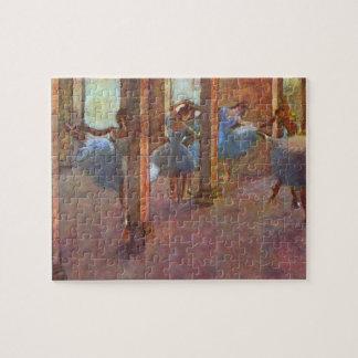 Dancers in Foyer, Edgar Degas, Vintage Ballet Art Jigsaw Puzzle