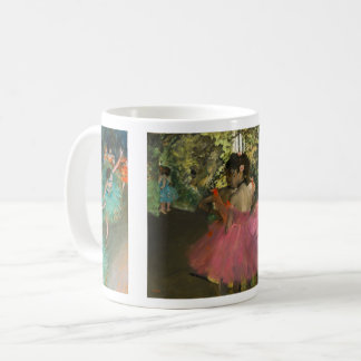Dancers in Pink and Green Coffee Mug