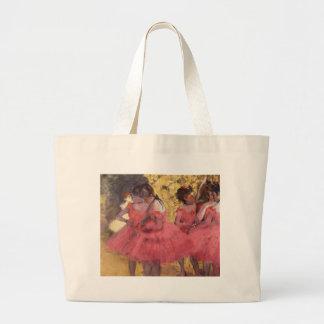 Dancers in Pink by Edgar Degas Bag