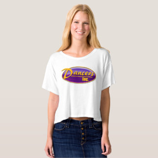 Dancers Inc Bella Crop T-Shirt
