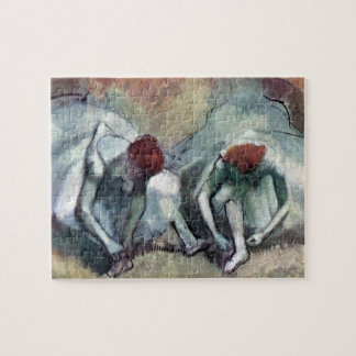 Dancers Lacing Their Shoes by Edgar Degas Jigsaw Puzzle