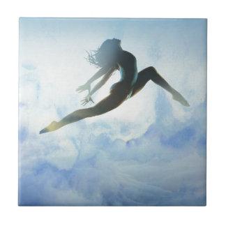 Dancer's Leap Ceramic Tile