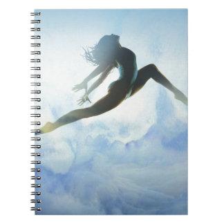 Dancer's Leap Spiral Notebook