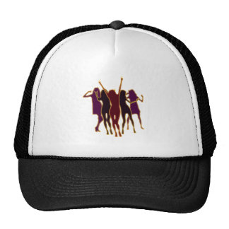 Dancers party dancers mesh hat