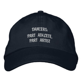 Dancers - Personalized Adjustable Hat Embroidered Hat