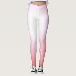 Dancers Pink Leggings Fashion Workout Sports