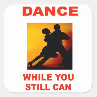 DANCERS SQUARE STICKERS
