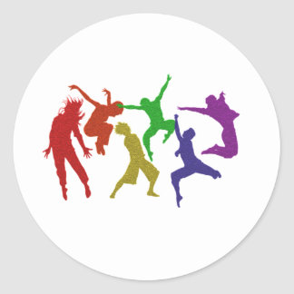 Dancers Sticker