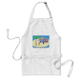 Dances w/ Palm Trees Funny Tees Mugs Gifts Etc Standard Apron