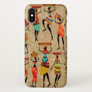Dancing African ladies iPhone X Case