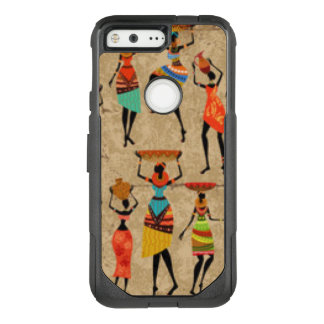 Dancing African ladies OtterBox Commuter Google Pixel Case
