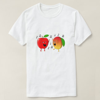 Dancing Apple and Mango T-Shirt