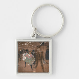 Dancing at the Rouge Key Ring