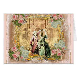 Dancing at Versailles Greeting Card