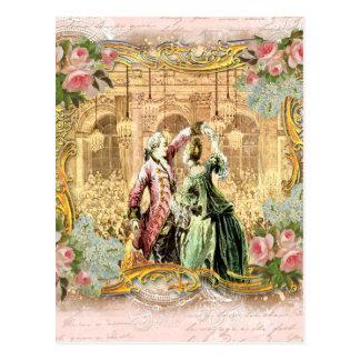 Dancing at Versailles Post Card