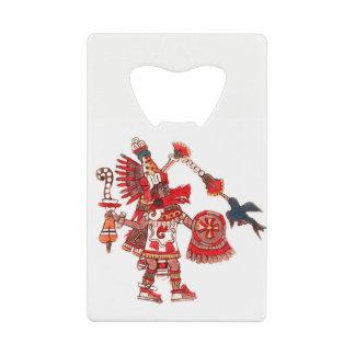 Dancing Aztec shaman warrior