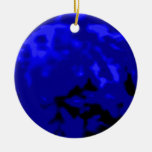 Dancing Ball Blue Red Trans MUSEUM Zazzle Gifts Ornament