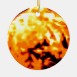 Dancing Ball Gold Transp MUSEUM Zazzle Gifts Christmas Tree Ornament