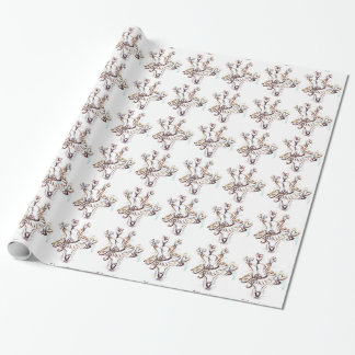 Dancing Ballerina Bear Wrapping Paper