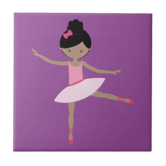 DANCING BALLERINA CERAMIC TILE