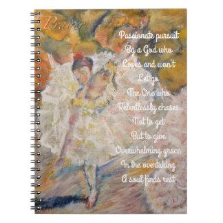 Dancing Ballerina prayer journal